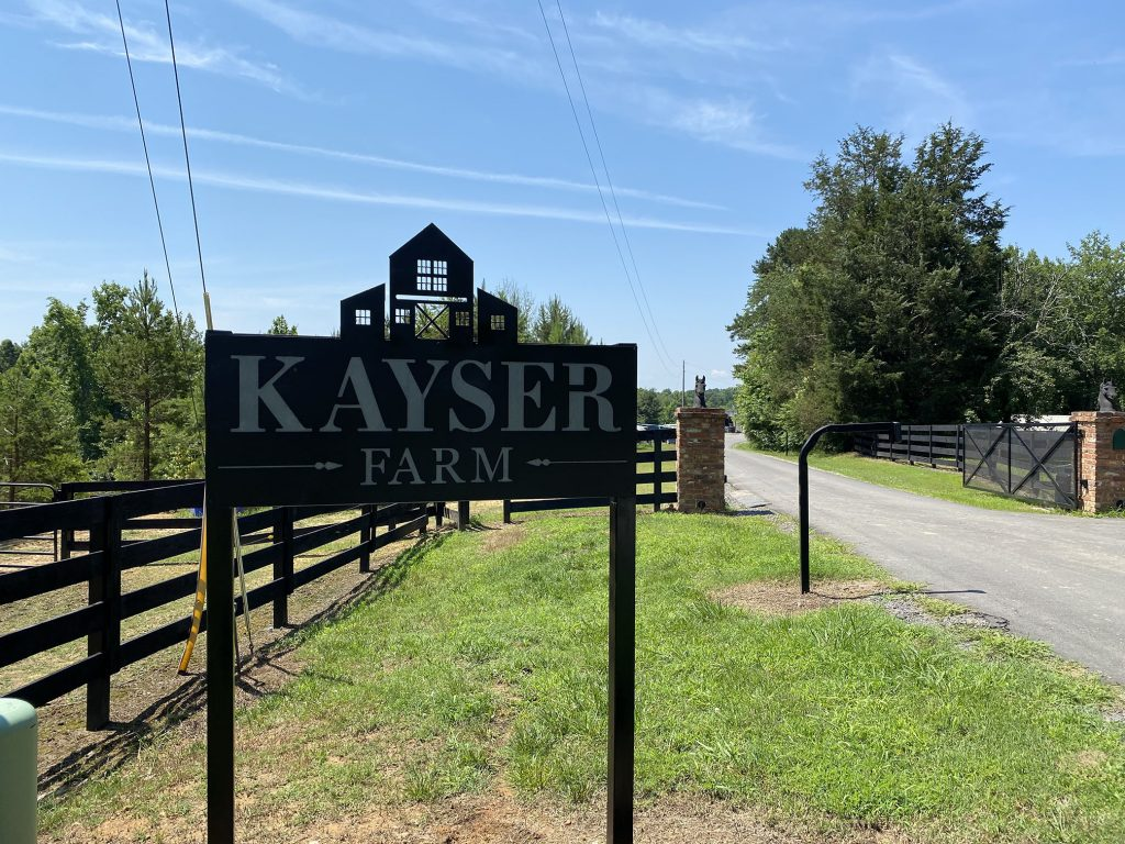 Calvary Chapel Riverbend is currently meeting at Kayser Farm in Iron Station, NC